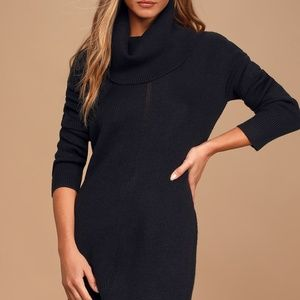 Lulus Tea Reader Sweater Dress